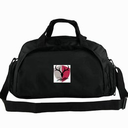 women sport sling bag NZ - Antlers duffel bag Kashima club tote Japan Football 2 way use backpack Soccer team luggage Sport shoulder duffle Outdoor sling pack