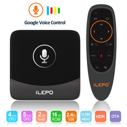 New aNdroid online shopping - Google Voice Control Android TV Box New Arrivals S905W Smart TV Streaming Box Android TV System Original ilepo i18 IPTV Box