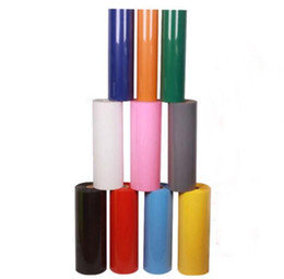 Chinese  1 roll 30cmx25m PVC Heat Transfer Vinyl for Heat Press Machine T-shirt Iron On HTV Printing SALE! manufacturers