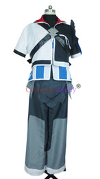 Kingdom Hearts Cosplay Birth por Sleep Ventus Costume H008