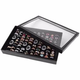 $enCountryForm.capitalKeyWord NZ - Jewelry Display Props Black Velvet Jewelry Flat Showing Tray Jewellry Holder Storage Boxes Case