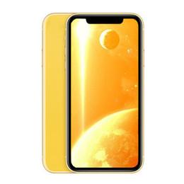 Goophone XR 6,1-дюймовый четырехъядерный сотовые телефоны 1 ГБ оперативной памяти 4 ГБ/8 ГБ / 16 ГБ ROM MTk6580 лицо ID смартфоны показать 4 ГБ/256 ГБ разблокирован телефон
