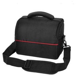 Camera Straps NZ - DSLR Shoulder Lens Camera Bag For Canon EOS 1100D 700D 650D 600D 550D Nikon P900 D7200 D40 D5300 Sony NEX A6000 A6300