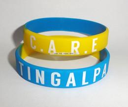 $enCountryForm.capitalKeyWord Australia - PROMOTION!!Printed custom logo silicone band silicone wrist bands person ID silicone bangles 500pcs lot free shipping