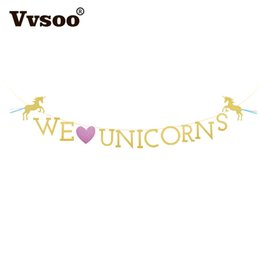 $enCountryForm.capitalKeyWord UK - Vvsoo Birthday Banner Unicorn Party Decoration Rainbow Ball Paper Garland Baby Shower Unicorn Party Supplies Birthday Decoration
