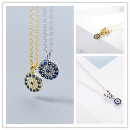Discount bead needles - 2018 New Smart Needle Crystal from  Bead Necklace Devil's Eye Necklace For Woman Christmas Gifts Wedding jewelry