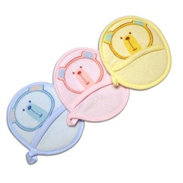 $enCountryForm.capitalKeyWord UK - 2PCS LOT Brand New 2018 Towel Fabric Baby Bath Brushes Soft and Comfortable Baby Bath Products Newborn Soft cTRQ0346