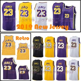 2018-2019 New Season Men 23 LeBron James Jersey Los Angeles James the city  Youth Kids Basketball Jersey Stitched Top quality Free Shipping f88587e34