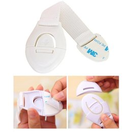 Wholesale Baby Care Multifunction Child Safety Lock Refrigerator Toliet Kids Drawer Lock Adhesive Door Cupboard Cabinet Extended M Glue Lock