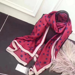 Soft Silk Scarf blue online shopping - 2018 Luxury Brand Summer Women s Scarf Fashion Lady Silk Scarves Soft Shawls Pashmina Foulard Bandana Hijab