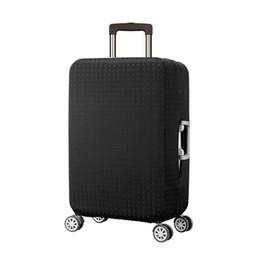 Schwarz Niet Gepäck Schutzhülle Herren Elastische Koffer Reisetasche Trolley Staub Regen Taschen Zubehör Liefert Produkt
