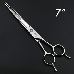 Right Handed Hair Cutting Shears Australia - 7 Inch Hairdressing Scissors Professional Hair Scissors Barber Shears Hair Cutting High Quality Tijeras Left hand, right hand
