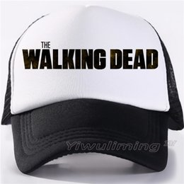 158bfd5d7b3 The Walking Dead Game Girl Clementine Clem s Caps Adjustable Women Zombie  Killer Summer Cool Trucker Baseball Caps Hats