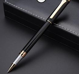 Опт новая ручка черный Classique ролик шариковая ручка металлическая шариковая и фонтан pountain ручки для написания подарок