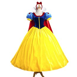 Classic Movie Costumes UK - Classic Fairy Tale Princess Costumes Carnival Royal Court Theme Costume Cartoon Movie Role Cosplay Fancy Dress