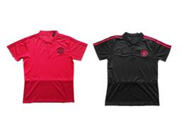 $enCountryForm.capitalKeyWord UK - Top Quality 2018 HIGUAIN Football POLO Shirt DYBALA POGBA HAZARD ALEXIS Red and Black Football Training Polo Shirt