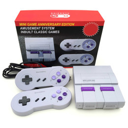 handheld video game systems NZ - Nes SUPER CLASSIC SNES GAME TV Video Handheld Retro Classic Game Console Entertainment System Also Sale PXP3 PVP