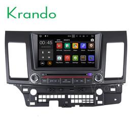 Lancer gps dvd online shopping - Krando quot Android car dvd audio radio navigation multimedia system for Mitsubish Lancer gps dvd palyer WIFI G DAB