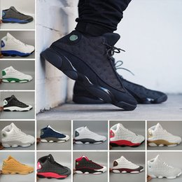 cheap flights shoes 2019 - Best cheap new 13 History of Flight White men basketball shoes 13s sports Sneaker Athletics fashion Shoes free shipping