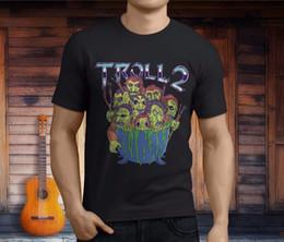 Custom Print T Shirt Cheap Australia - Custom T Shirts Cheap Short New Troll 2 Horror Movie Men's Black T-Shirt Asian Size S 3XL Crew Neck Christmas Shirt For Men