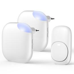 $enCountryForm.capitalKeyWord UK - 1BY ONE Waterproof Wireless Doorbell EU Plug Smart doorbell Wireless Bell Easy Install Adjustable Indoor Ring Volume