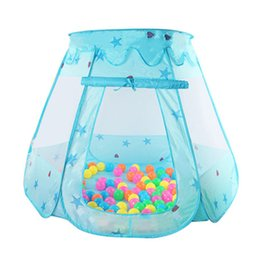 games for kids 2018 - Cute Children Kid Balls Pit Pool Game Play Tent Indoor Outdoor Gaming Toys Hut for Baby Toddlers Hot Sale cheap games fo