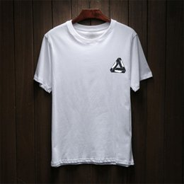 Cotton Print Material NZ - 2018 New Men's Summer Fashion New Brand Hip Hop T-shirt Men's Cotton Blend Material Casual T-shirt Letters and Prints