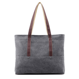 Canvas Cheap Tote Bag NZ - Cheap Price Beach Fresh Canvas Shoulder Bag School College Shopping Tote Bag For Trip or Daily Use
