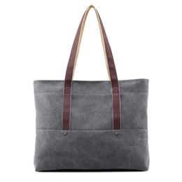 $enCountryForm.capitalKeyWord NZ - Cheap Price Beach Fresh Canvas Shoulder Bag School College Shopping Tote Bag For Trip or Daily Use