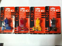 classic plastics Australia - Fox40 Whistle Plastic FOX 40 Soccer Football Basketball Hockey Baseball Sports Classic Referee Whistle Survival Outdoor