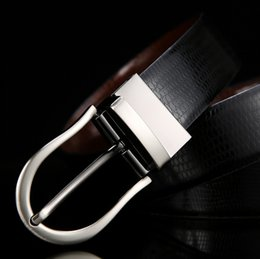 $enCountryForm.capitalKeyWord Canada - Men's fashion rotary needle button leather belt men's double-sided with casual leather belt jeans belt wholesale