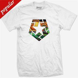 Neck Gear Australia - Casual T Shirt Male Pattern Tribal Gear original Patrones de CAMISETA T-SHIRT blanco blanco Short Sleeve Crew Neck Fashion