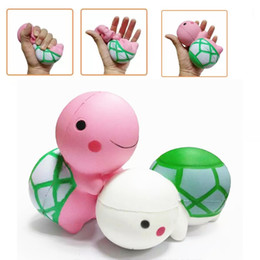 large kawaii squishy 2019 - Kawaii Squishy Tortoise New Squishies Animal Large Cute Turtle Slow Rising Toys Scented Simulation DHL Free Shipping SQU
