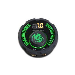 Alimentation de tatouage Numérique LCD Écran 2A Sortie Base anti-dérapante Double boîte de mode de fonctionnement avec cordon d'alimentation pour machine à tatouer P087