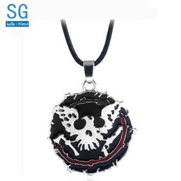 $enCountryForm.capitalKeyWord NZ - SG State of Decay 2 Necklaces Pendants Eagle Axe Gun Skull Logo Kill Zombie Choker Keyring Men Halloween Jewelry Gift