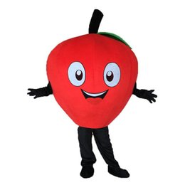 Professional Cartoon Costumes Australia - 2018 High quality PROFESSIONAL Red Apple Mascot Costume Mascot Costume cartoon Fancy Halloween Christmas Dress Free Shipping
