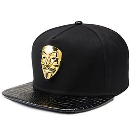 cdf163fa474 2018 Bling V Cap Popular Vendetta Baseball Caps Flat Brim Snapback Cap Hip  Hop DJ Hats Men Women Fashion Couples Hat Adjustable Sport Hat