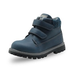 $enCountryForm.capitalKeyWord Canada - Autumn Boys Classic Ankle Boots Kids Fashion Martin Boots Motorcycle Boot for Boys PU Leather Patched Children's Shoes