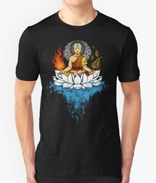 Wholesale ENLIGHTENMENT T SHIRT SPIRITUAL AWARENESS BUDDHISM NATURE REALITY Mens fashion Brand T Shirt O Neck cotton T Shirt