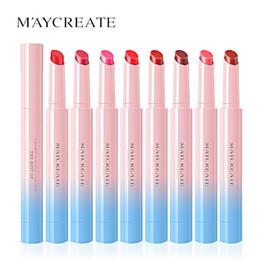 $enCountryForm.capitalKeyWord Australia - Original Lipstick Sexy Long Lasting Waterproof Flower Lipstick Matte Pencils Moisturizer Lips Makeup Set Lip Lipsticks