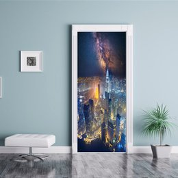 $enCountryForm.capitalKeyWord Australia - Creative Poster Picture Door Sticker Mural Waterproof DIY Wallpaper City Night Wall Art Painting Landcape Vinyl Decal Art print Home Decor