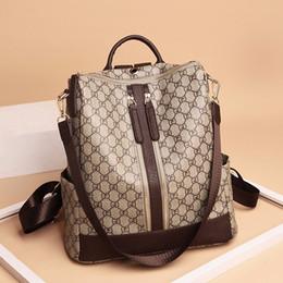 luggages bag 2019 - Luxury Backpacks Casual Women Handbag Zipper Brand Designer Bags School Luggages High Quality Fashion Shoulder Bag Tote