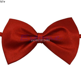 Chinese  Children Bow Tie Boys Girls Kids Student Cute Butterfly Knot Solid Taking Picture Photograph Ceremony Party manufacturers