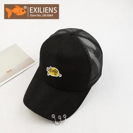 de72b7957ad EXILIENS Baseball Cap Unisex Men Women Stranger Things Brand Cotton Mesh  Top Snapback Caps Hip Hop Hats Dad Hat Bone Casquette