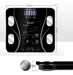 Großhandel AIWILL Badezimmerwaagen LED Bildschirm Körper Fett Elektronische Waage Körperzusammensetzung Analyse Gesundheit Skala Smart Home