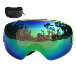 $enCountryForm.capitalKeyWord Canada - Double Lens Ski Goggles Anti-fog UV 400 Ski Glasses Men Women CE Certification Skiing Snowboard Skateboard Snow Goggles Mask