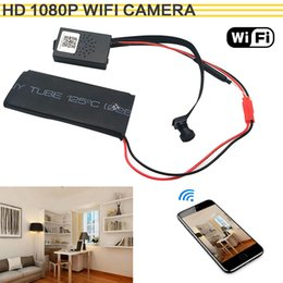 diy network camera 2019 - HD 1080P WIFI Network Camera P2P Mini Camera DIY Wireless Module Motion Activated DV Camcorder with 3000mA Baby Monitor