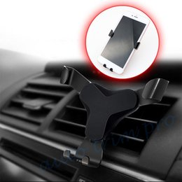 car style cell phones UK - Car Truck Inner Accessories Black Style Cell Phone GPS Support Holder Cradle Bracket Stand Accessories