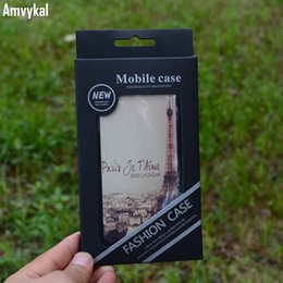 $enCountryForm.capitalKeyWord Australia - Amvykal For iPhone X 6 6s 7 8 Plus Samsung Cover Universal Phone Case Retail Packaging Black PVC Plastic Blister Retail Box
