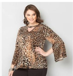 $enCountryForm.capitalKeyWord NZ - 2018 large yards of women's wear spring new style European and American casual casual leopard print T-shirt TS0008